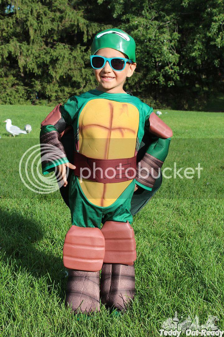 Turtle Ninja Costume Front
