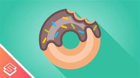 inkscape tutorial vector donut youtube