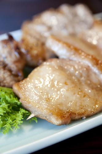 もちぶたの串焼き, 亀の井別荘 湯の岳庵, 湯布院