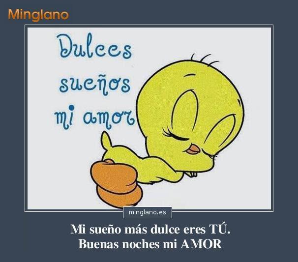 Frases De Buenas Noches Mi Amor