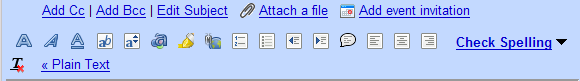 Gmail with tango icons
