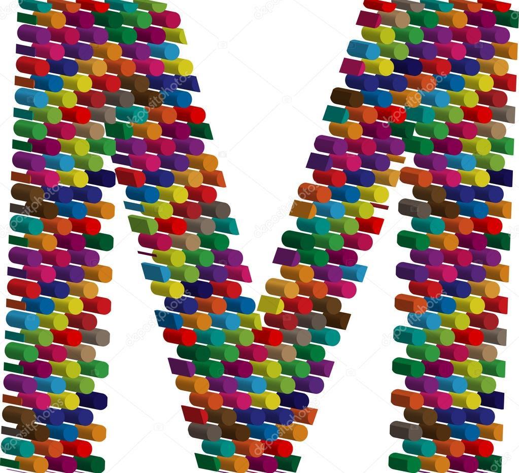 Resultado de imagem para Letra M