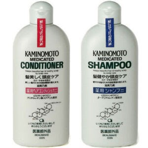Japan KAMINOMOTO Medicated Scalp Care Hair Growth Shampoo or Conditioner 300ml eBay
