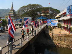 The most northerly town in Thailand, Mae Sai. [IMG_1096]