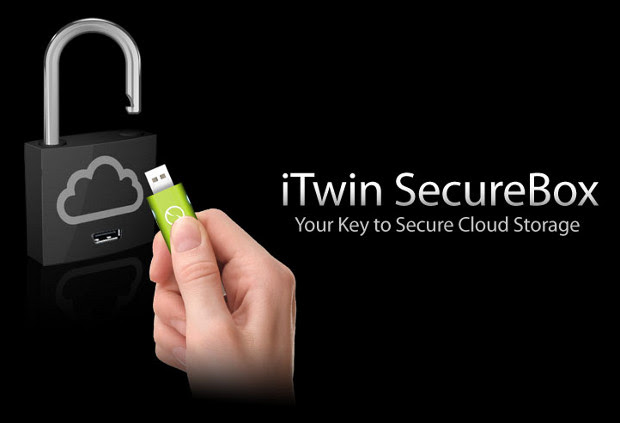 iTwin SecureBox adds hardware encryption to your Dropbox account