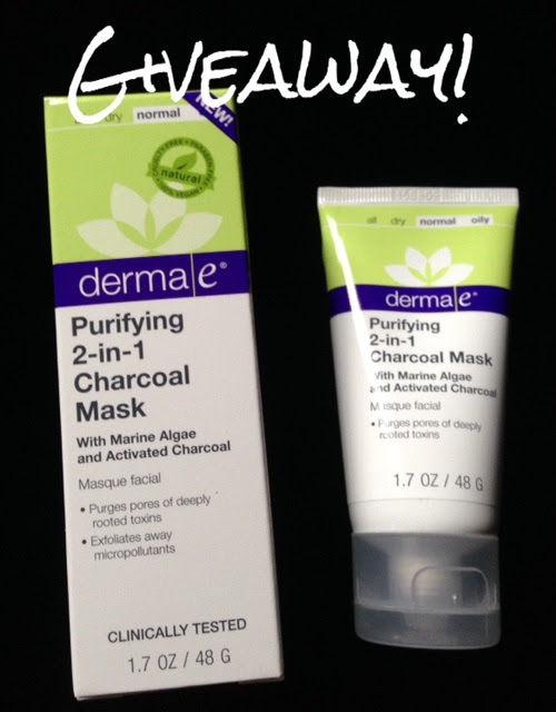 derma e 2-in-1 Charcoal Mask neversaydiebeauty.com @redAllison