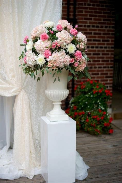 Pedestal Urns for Wedding Ceremony or Entry   Wedding