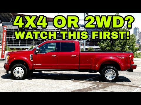 Considering a 4x4 or 2wd Pickup?
