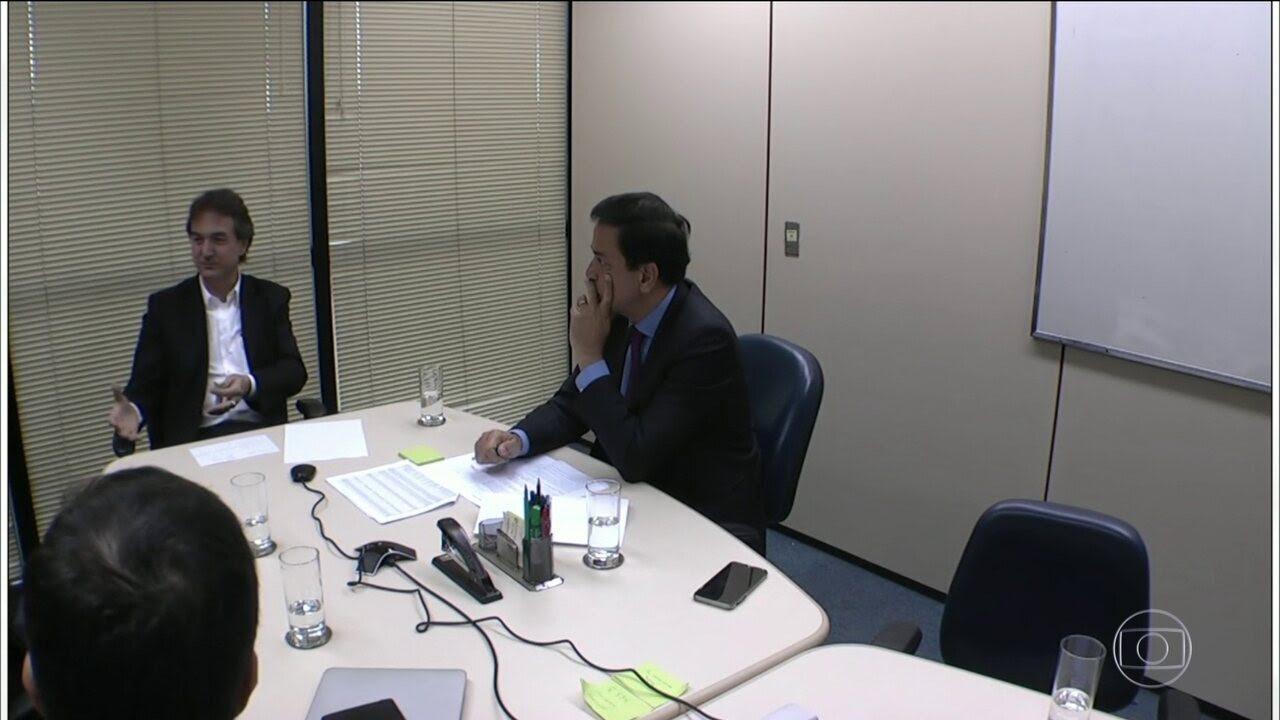 Joesley fala das relações do presidente Michel Temer com Eduardo Cunha