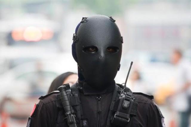 Αυτές είναι οι μάσκες των ειδικών δυνάμεων της Ταϊβάν… από Kevlar