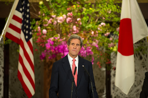 Secretary Kerry at a Tokyo Press Conference by East Asia and Pacific Media Hub