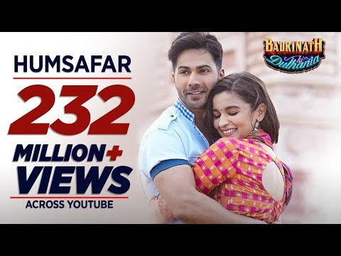 Humsafar Video Song - Badrinath Ki Dulhania Movie Song