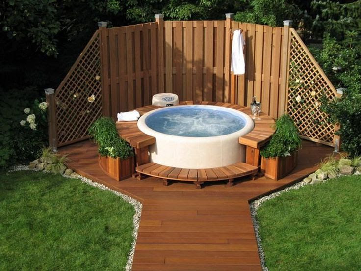 Outdoor Jacuzzi Hot Tub