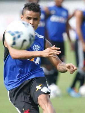 Everton treino Flamengo (Foto: Gilvan de Souza/Fla Imagem)