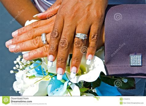 Bride And Groom Hands Stock Photo   Image: 2794010