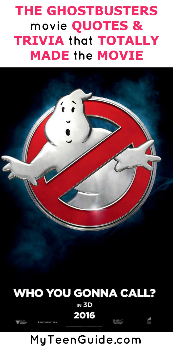 The Ghostbusters Movie Quotes And Trivia That Made The Movie