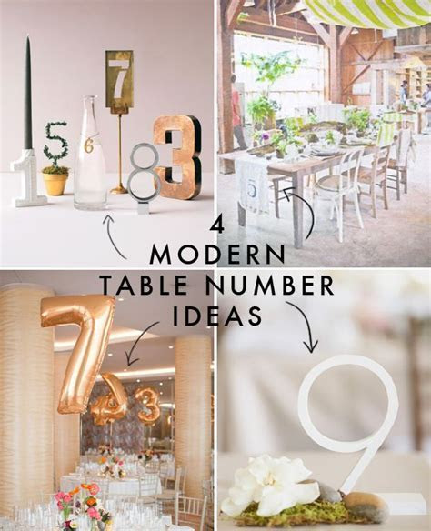 modern wedding   table decor: 10  handpicked ideas to