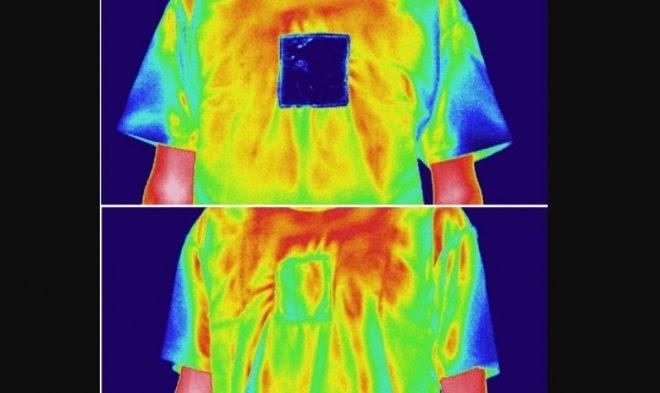 Ученые разработали ткань, которая согревает и охлаждает одновременно