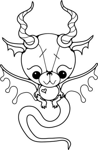 Dibujo De Bebe Dragon Para Colorear Dibujos Para Colorear Imprimir