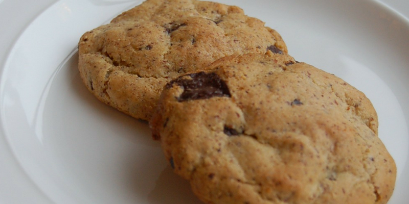 Stevia Chocolate Chip Cookies (low carb, low FODMAP ...