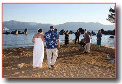 Zephyr Cove Weddings   Lake Tahoe Beach Wedding