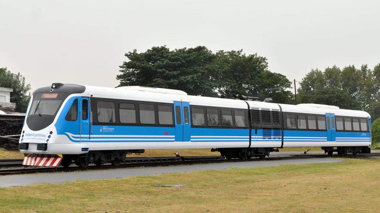 Alerce es el primer tren 0 km de fabricación nacional