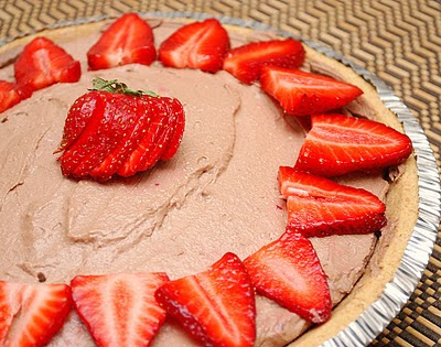 Creamy Chocolate Tofu  Pie