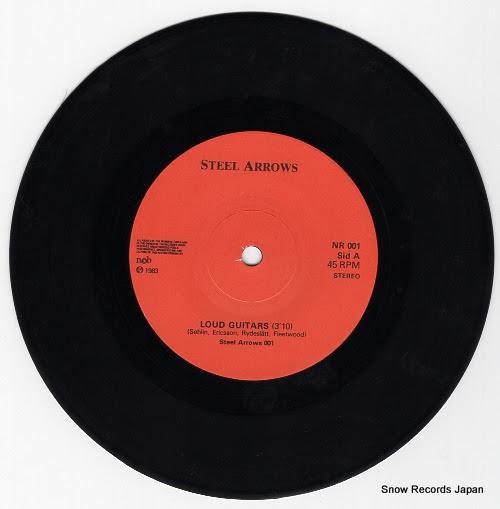 STEEL ARROWS -  loud guitars - STEELARROWS001