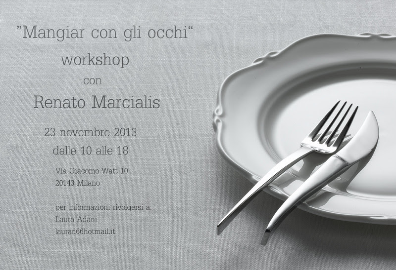 food photography workshop by Renato Marcialis