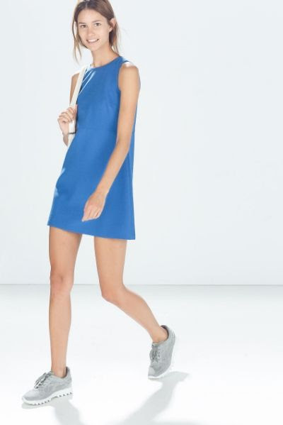 Zara Dress with Back Slit