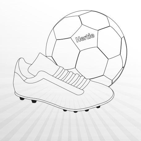 Ausmalbilder Fussball WM 2018 | Hertie.de