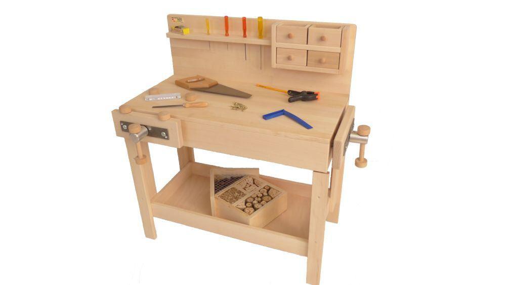 Werkbank für Kinder | Holz Spielzeug Peitz