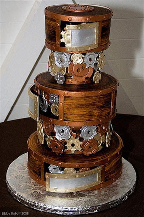 Gears Of War: A Steampunk Wedding Cake   Geekologie