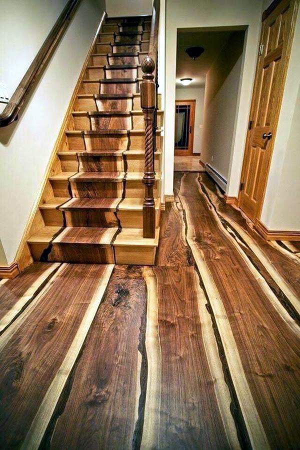 Creative Wood Floor Paint Decoration Art Works (33)