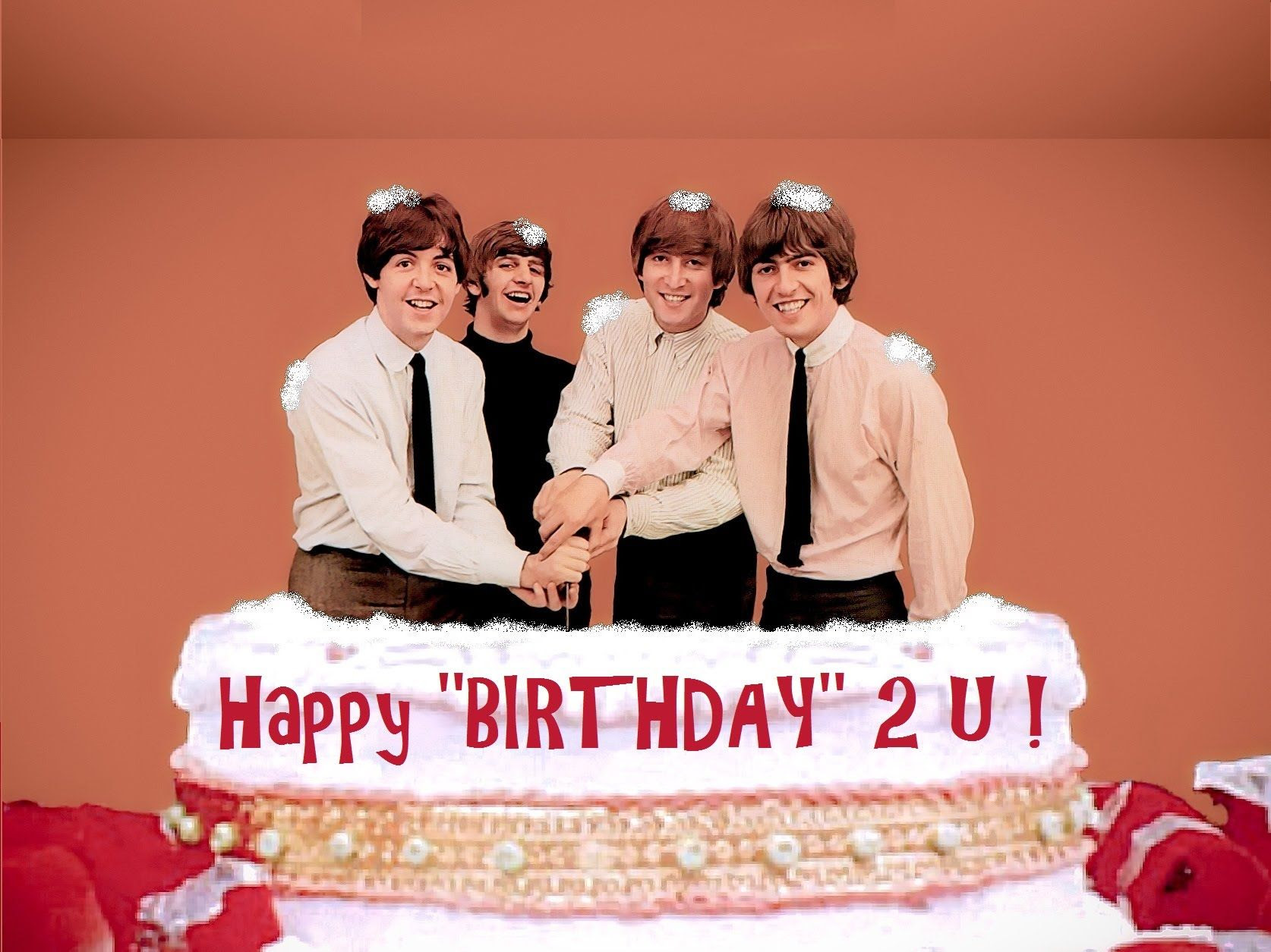 Happy Birthday Lyrics The Beatles