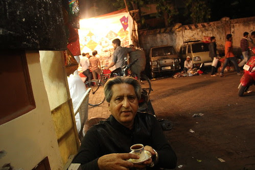 Irani Chai at Khushali Imamwada Before Shooting Kite Shops Makar Sakranti by firoze shakir photographerno1