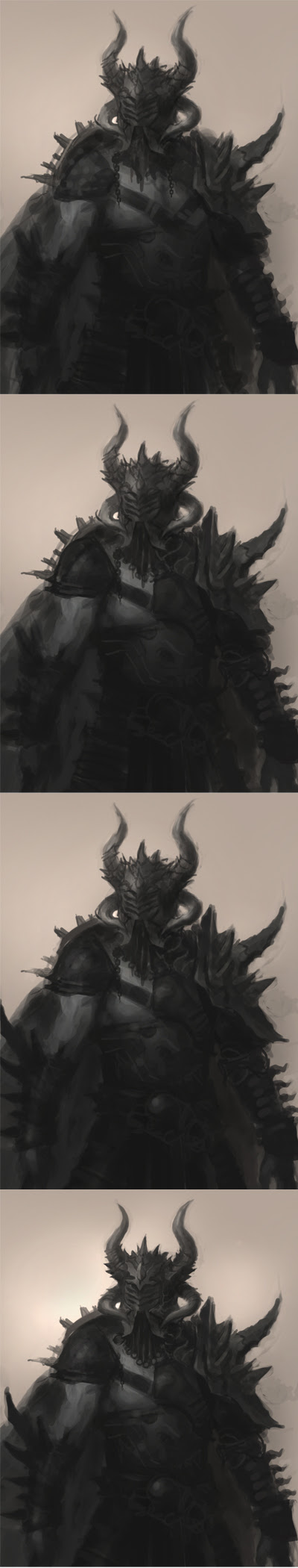how to draw warrior