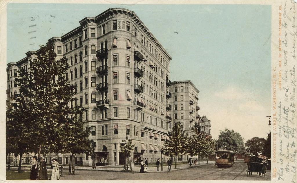 Streets Of Washington The Elegant Stoneleigh Court Apartments