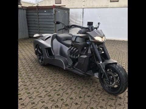 Báo VietnamNet: Siêu xe đầu mô tô, đuôi Lamborghini Aventador khiến dân chơi sửng sốt