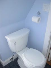 Daughter's new toilet