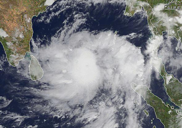 Effects of cyclone OCKHI to decrease gradually