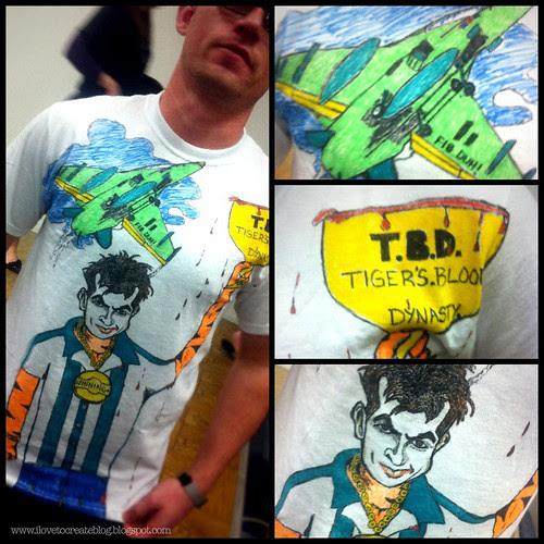 Matt's Charlie Sheen Winning Shirt