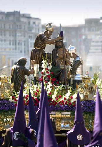Paso de la Coronación de Espinas de Zaragoza