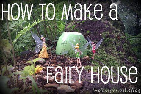 fairy   frog diy fairy house