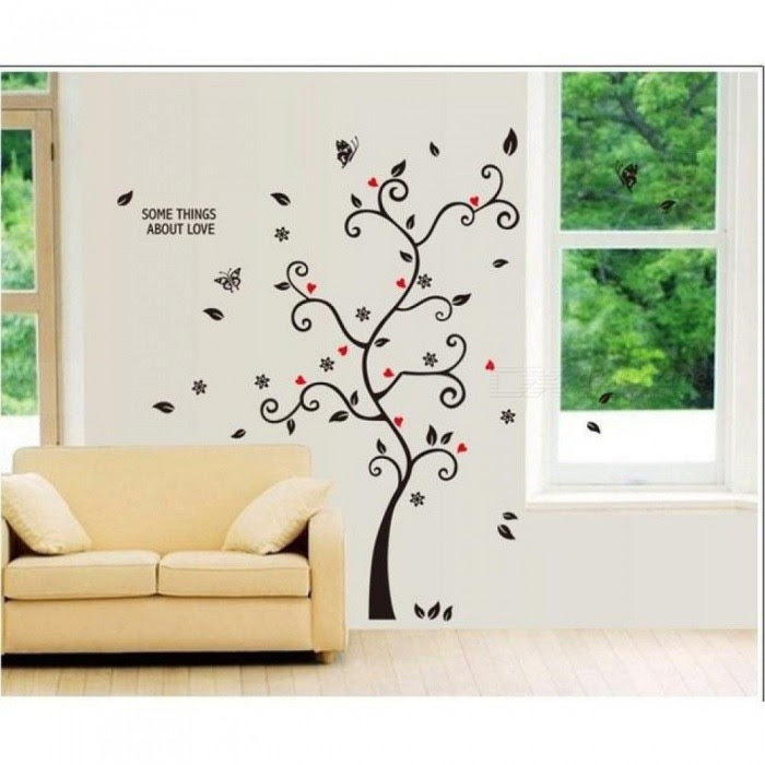 Diy Family Photo Frame Tree Wall Sticker Home Decor Living Room