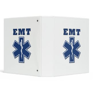 EMT Star of Life binder
