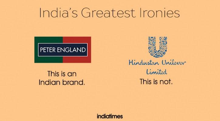 Irony that is India