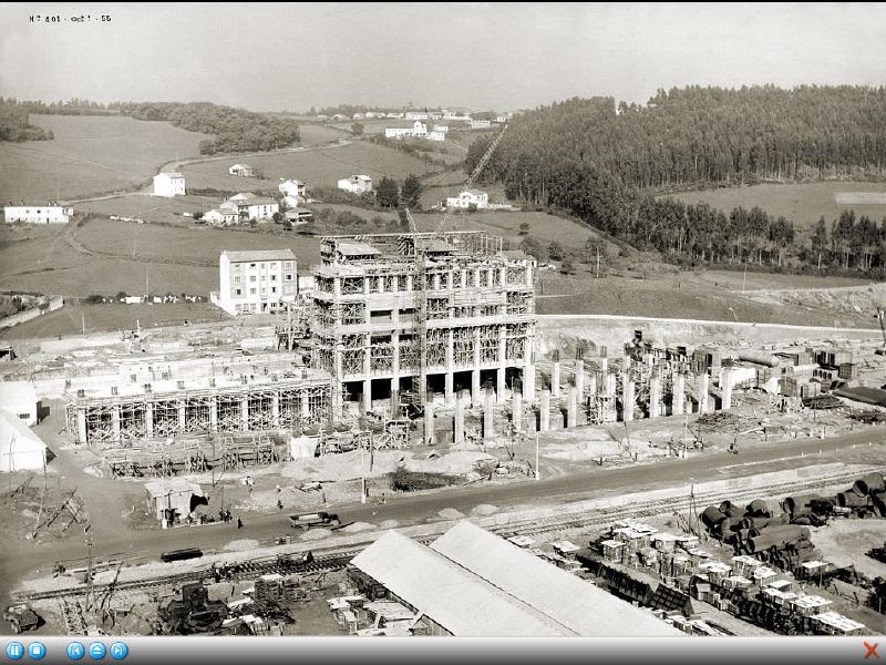 TERMICA DE ENSIDESA - CONSTRUCCION (Cortesia Javier Gancedo - Centro de Documentación de Arcelor Mittal)