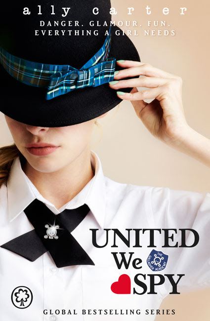 gallagher girls book six united we spy
