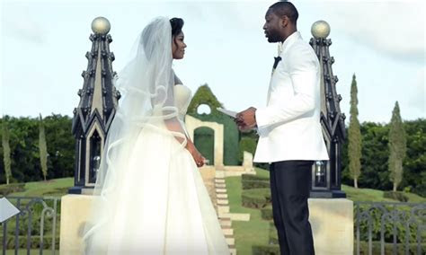 The Wade Union Gabrielle Union Dwayne Wade Wedding Vows
